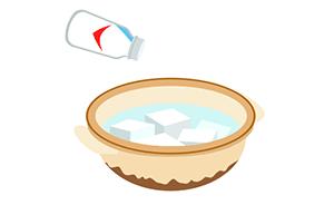 豆腐の「す」を防ぐ