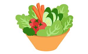野菜に塩をしてよりおいしく